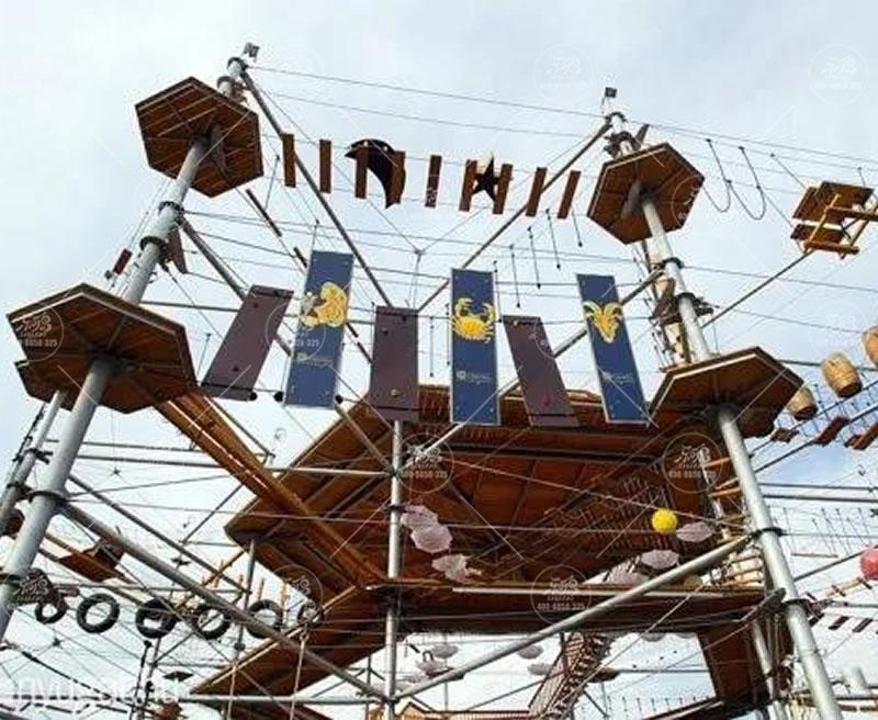 定制成品攀爬架,公园儿童游乐场设施设备厂家