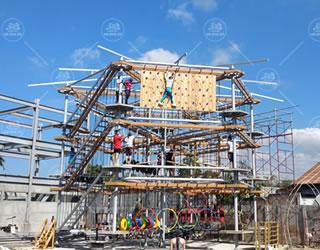 户外勇士拓展架、素质拓展基地设备生产厂家,青少年素质体验活动中心