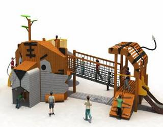 非标定制-仿生动物乐园
