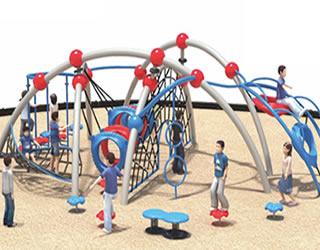 定制大型户外儿童攀爬网玩具幼儿园景区房地产娱乐设施 儿童爬网